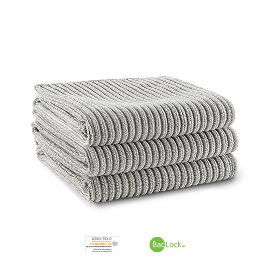 Kitchen Cloth Trio (Graphite)