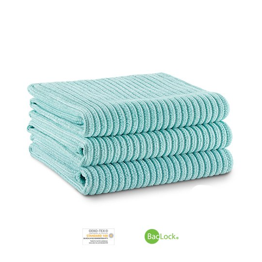 Kitchen Cloth Trio (Sea Mist)