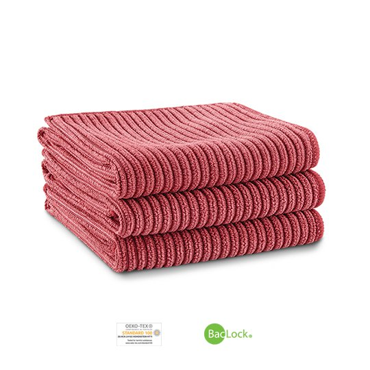 Kitchen Cloth Trio (Pomegranate)