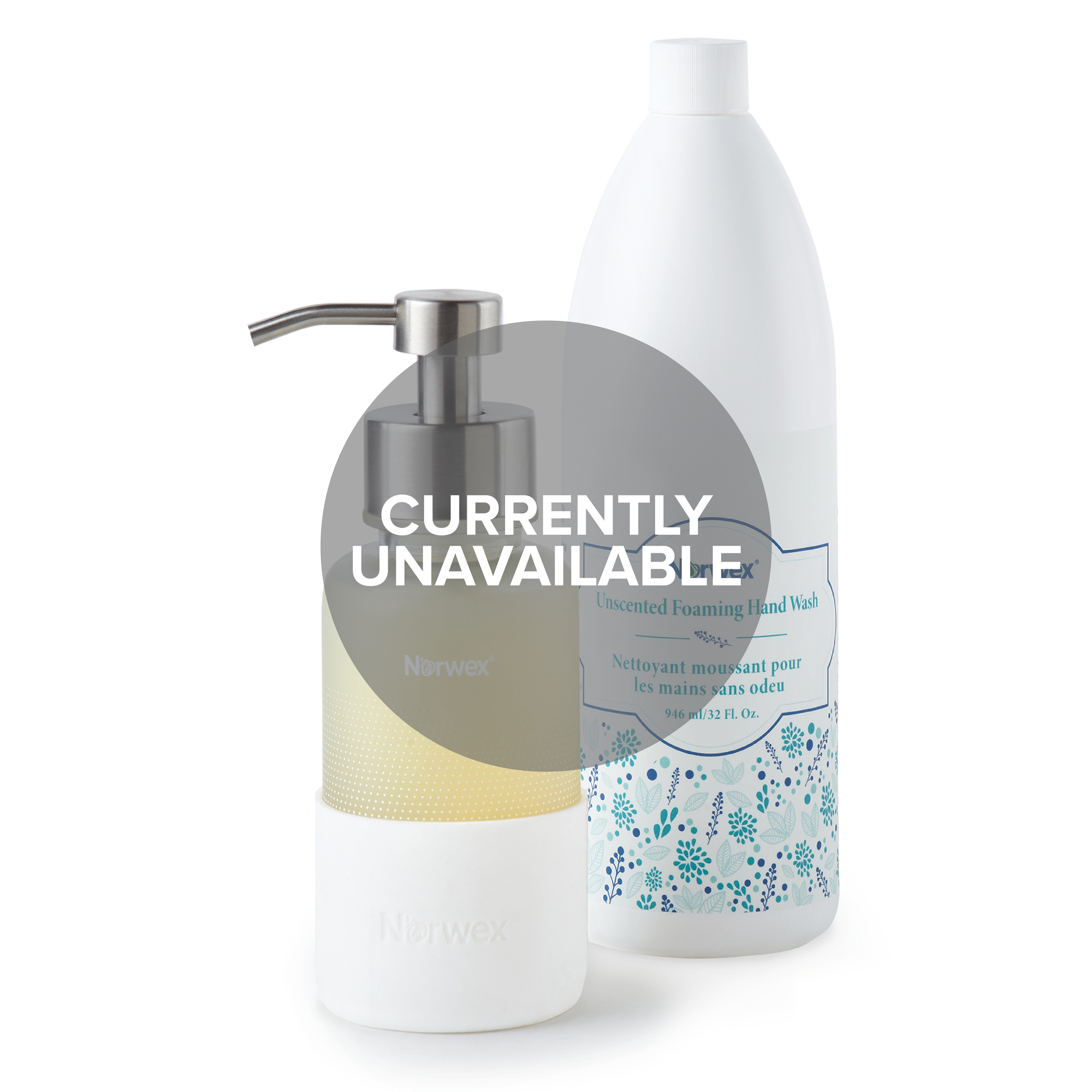 Unscented Forever Clean Hand Wash Set