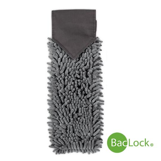 Chenille Hand Towel Graphite