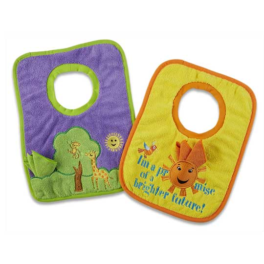 Toddler Bib and Cloth set