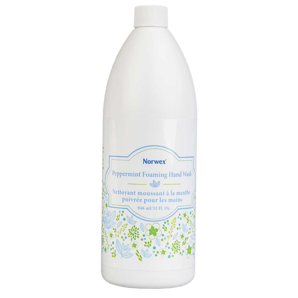 Peppermint Foaming Hand Wash Refill (32 fl Oz)