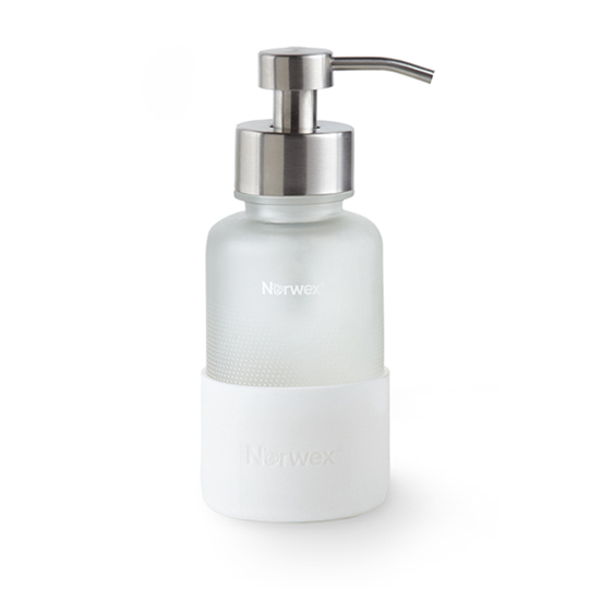Forever Bottle with Foaming Hand Wash Dispenser, white