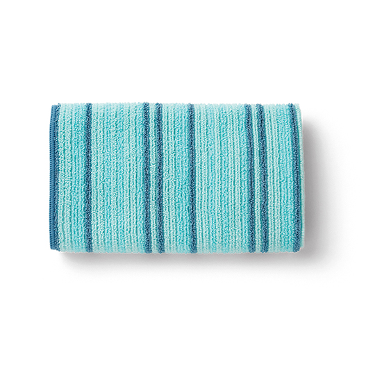 Bath Towel, sea mist stripe