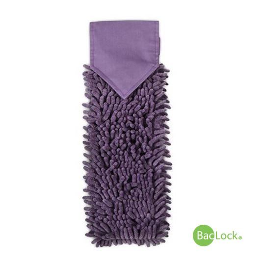 Chenille Hand Towel Eggplant