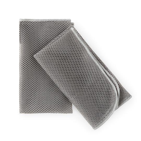 Dish Mesh Cloth Grey