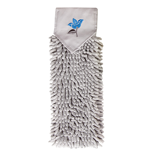 Chenille Hand Towel, flower