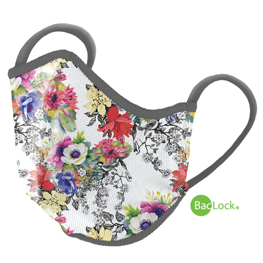 Norwex Reusable Face Mask with BacLock®, Adult - floral