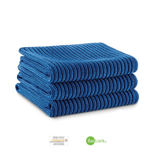 Kitchen Cloth Trio (Navy)