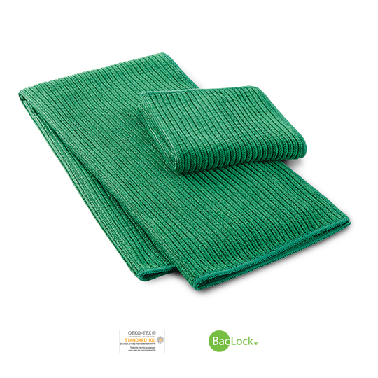 Kitchen Towel & Cloth Set (Green)