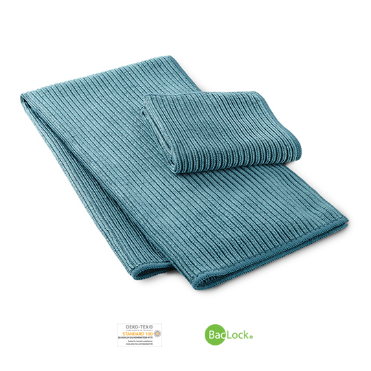 Kitchen Towel & Cloth Set (Teal)
