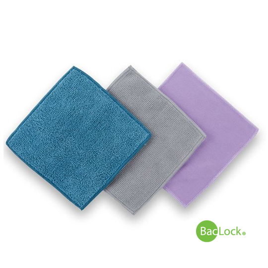 Microfiber Variety Pack Graphite/Purple/Teal