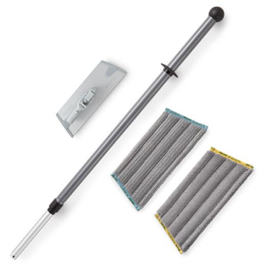 Superior Mini Mop System - graphite/black handle