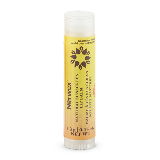 Natural Sunscreen Lip Balm (SPF 15)