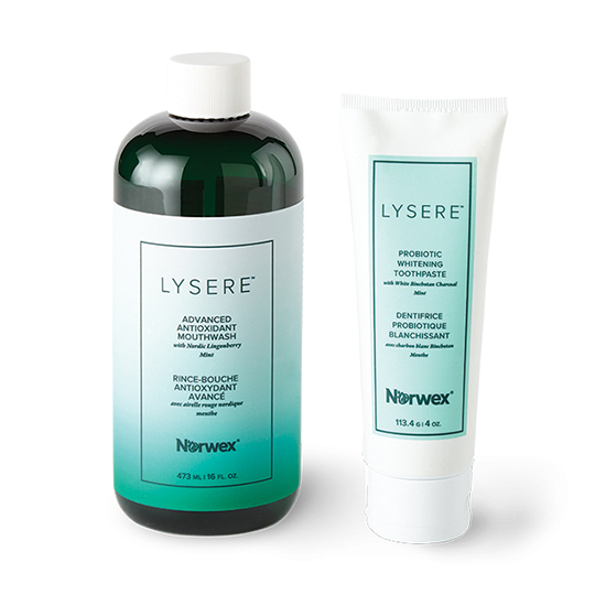 Lysere™ Toothpaste & Mouthwash Set