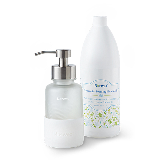 Peppermint Forever Clean Hand Wash Set
