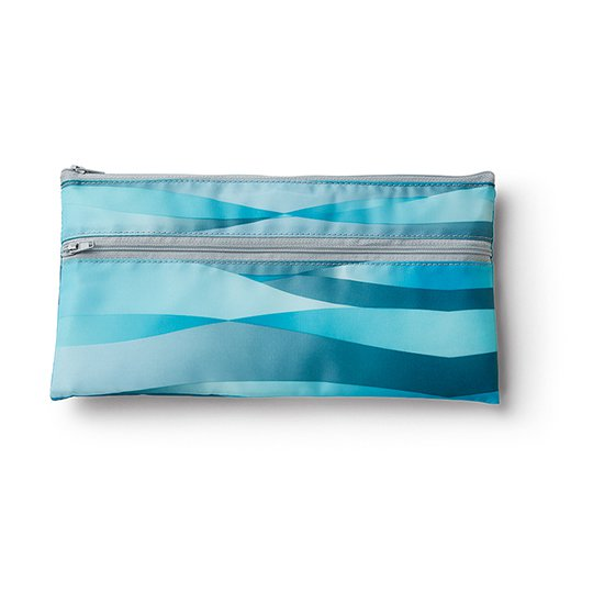 Travel Bag, wave pattern